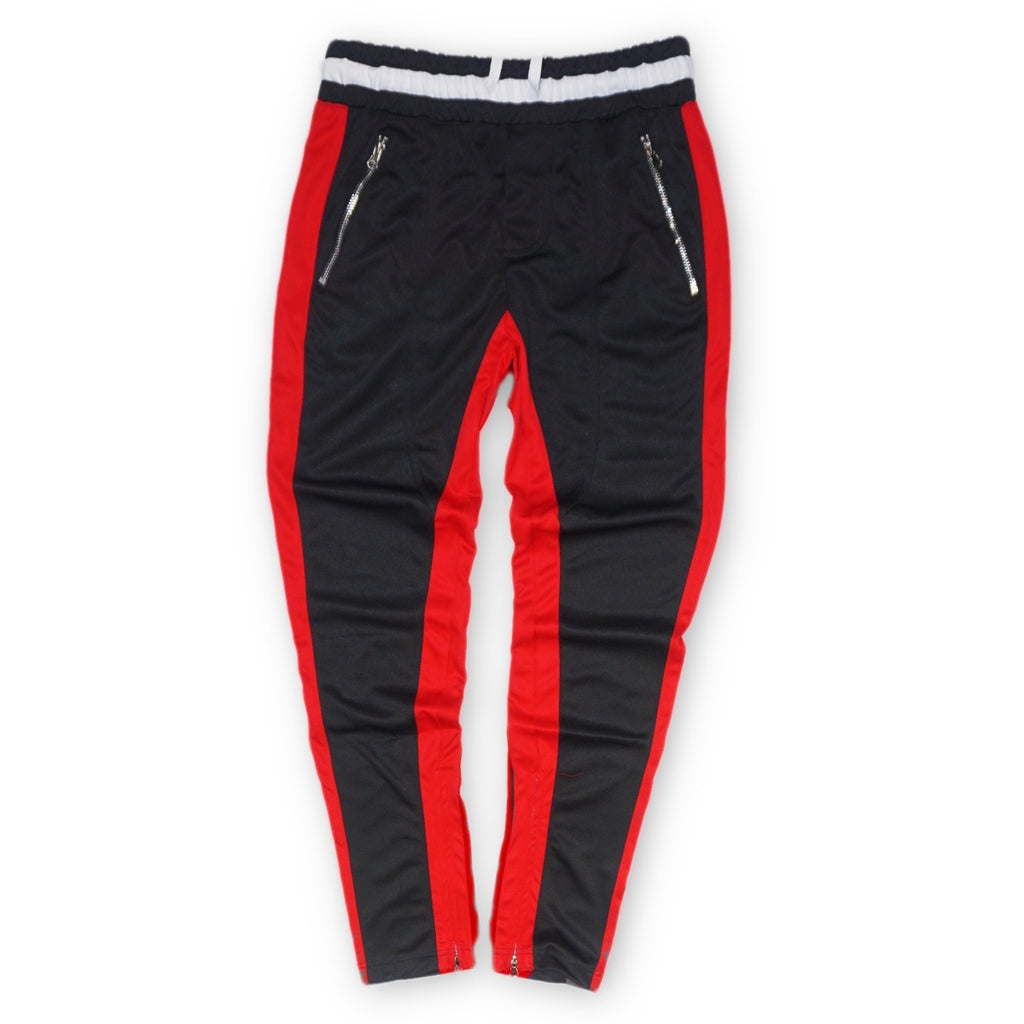 Premium Track Pants (Black/Red) /D5