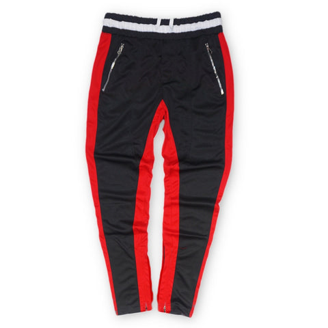 Premium Track Pants (Black/Red) /D1