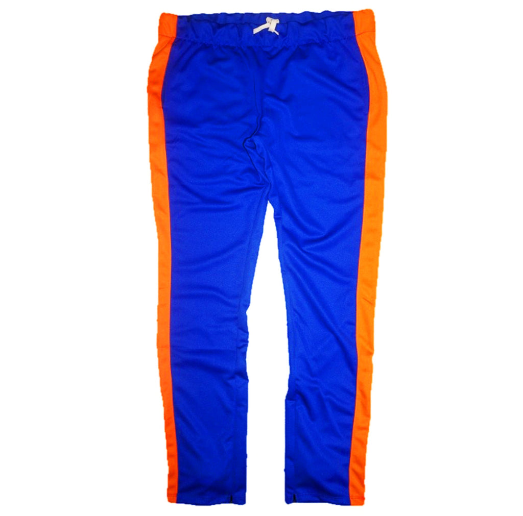 Techno Track Pants (Blue/Orange) /D2