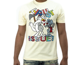 Trust Issues Tee (Natural) /D17