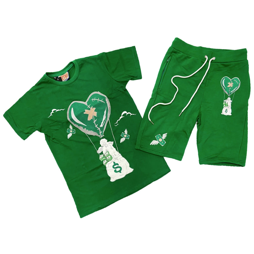 Rise Air SS Set (Green) /D18