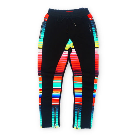 Ranchero Print Pants (Black) /D5