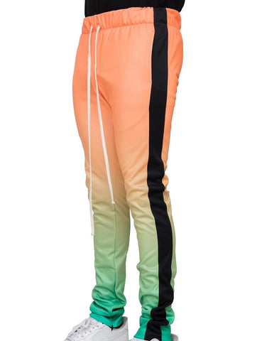 Gradation Techno Track Pants (Org/K. Green) / D16
