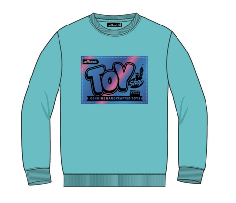 Toy Shop L/S Crewneck (Mint) /D5