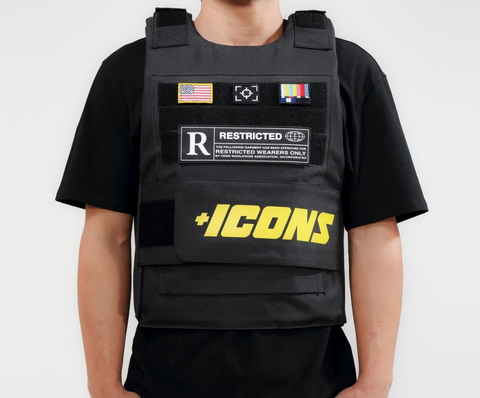 Icons Vest (Black) /MD2