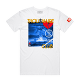 Nuclear Tee (Wte/Gold/Navy) / D8