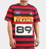 Game Stripe Tee (Red) / D17