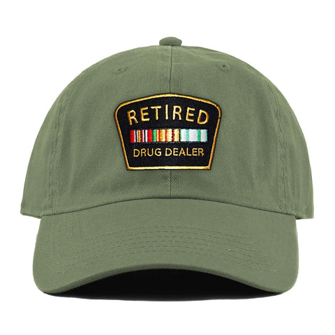 Retired Drug Dealer Hat (Olive)
