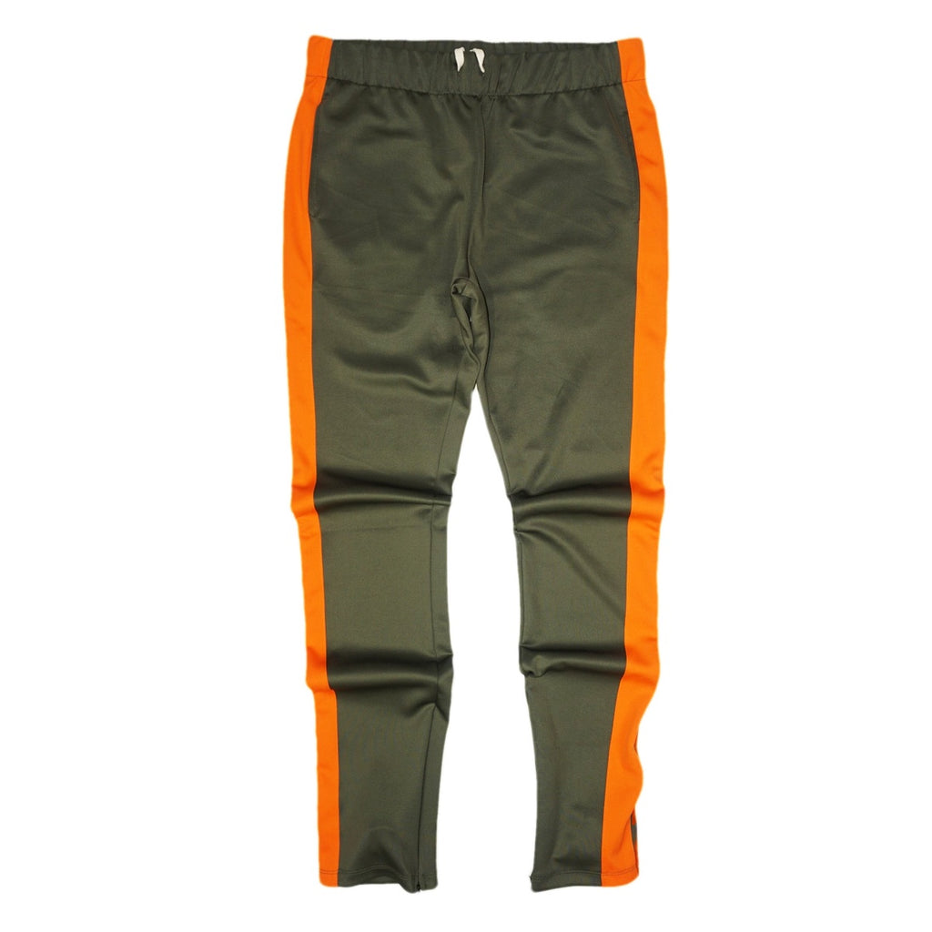 Techno Track Pants (Olive/Orange) /D5