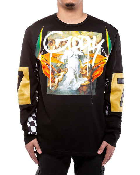 Godly L/S T-Shirt (Black)