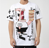 Patrick PNG SS Tee (White) / D12