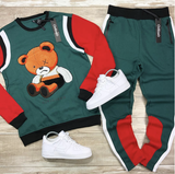 Teddy Bear Crew Set (Green) / C8