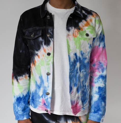 Northern Lights Denim Jacket (Blue/Multi) /C4