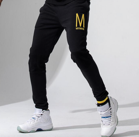 Motivation Joggers (Black) /D12