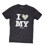 I Love My Money Tee (Black) /D8