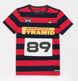 Kids Game Stripe Tee (Red) / MD2