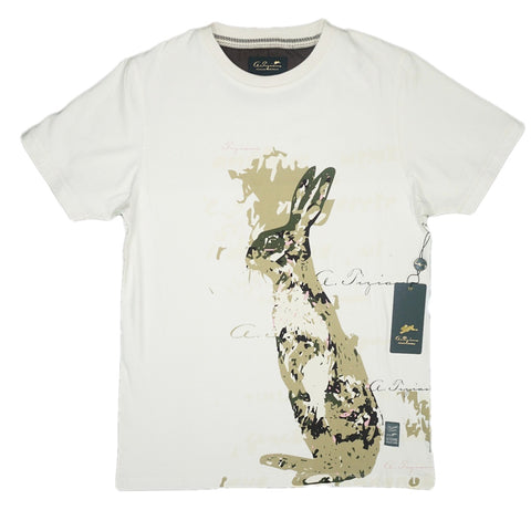 Harley Graphic T-Shirt (Creme)