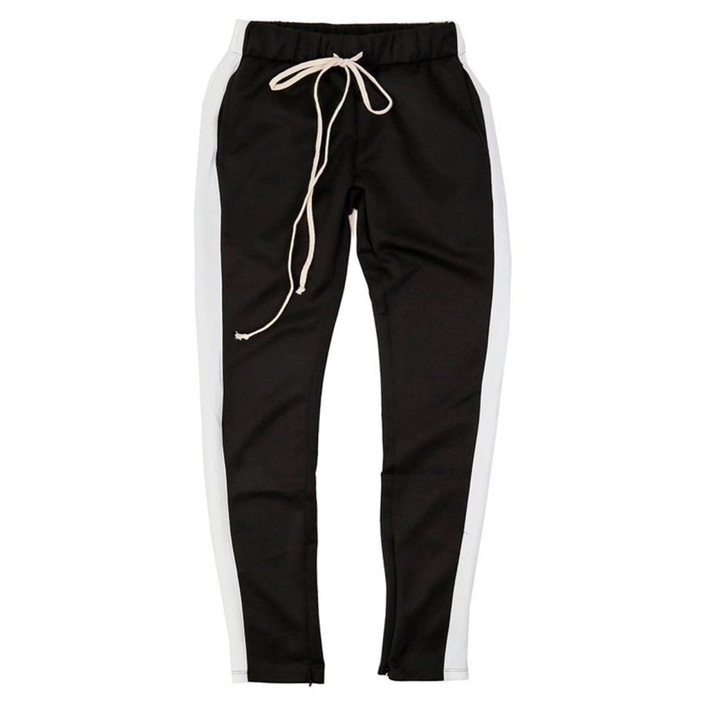 Techno Track Pants (Black/Wte) /D7