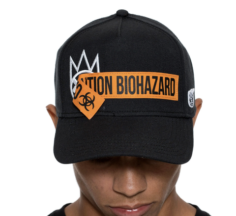 Biohazard Dad Hat (Black)