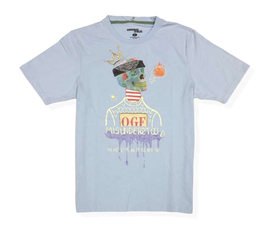 OGF Misunderstood Tee (Powder Blue) /D?