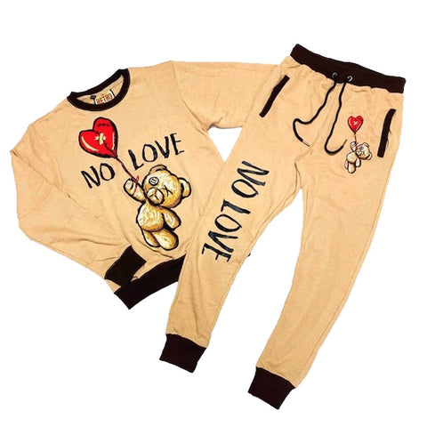 No Love Fleece Set (Timber) /D11