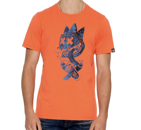 Artist Should Disturb Tee (Orange) / D8