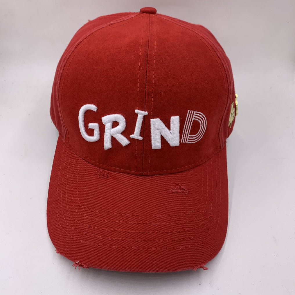 Grind Truck Dad Hat (Red)