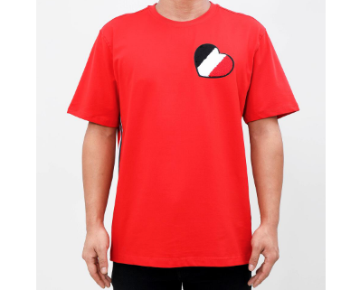 Bred Heart Tee (Red) / D11