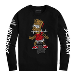 Bart Puzzled Crew (Black) /D12