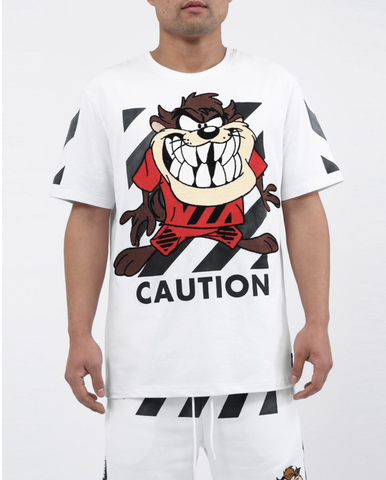 Caution Taz Set (White) / D12