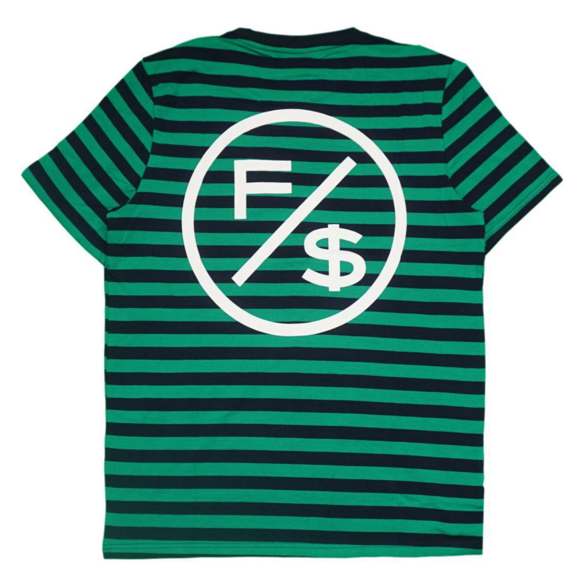 Signed Stripe Shirt (Green) /D10
