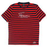 Signed Stripe Shirt (Red) /D10