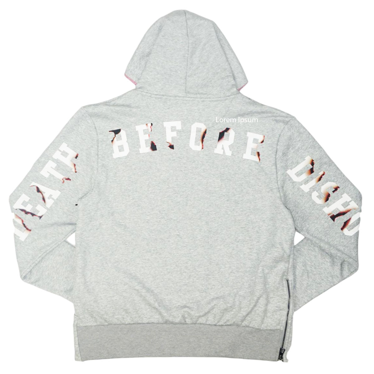 Die For Love Fleece Pullover ( Grey ) / D12