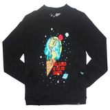Ice Cream Crewneck (Black) /C3