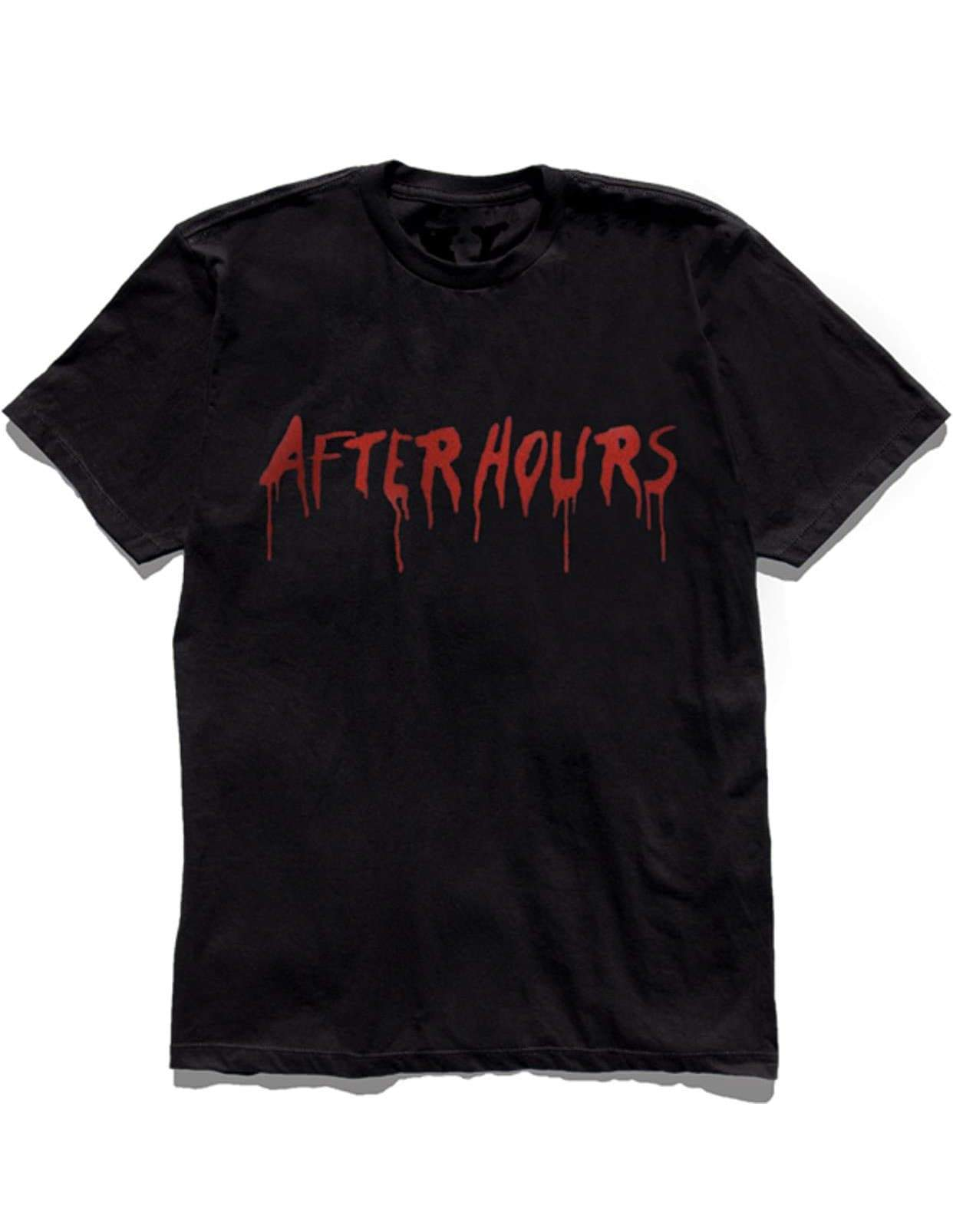 The Weeknd x Vlone AfterHours Blood Drip Tee (Blk/Red) /D11