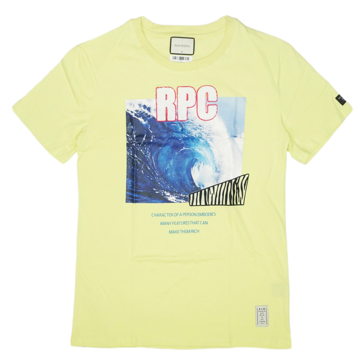RPC Wave Tee (Neon Green) /MD2