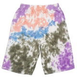 Tie-Dye Shorts (Olive/Pink/Prp) /D14