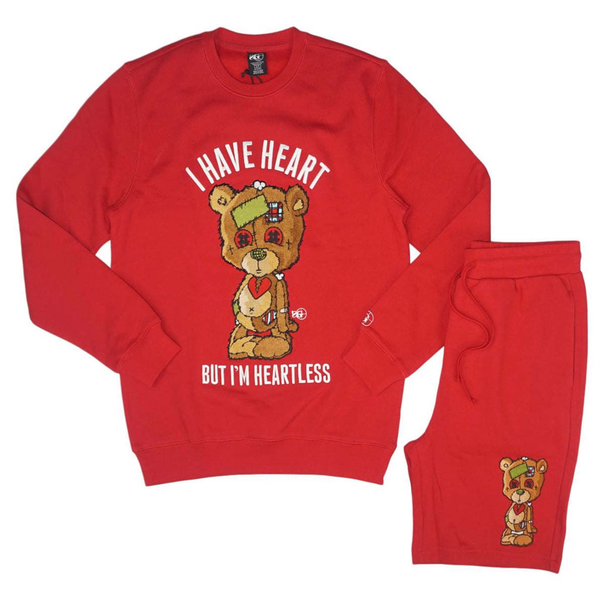 Heartless Shorts Set (Red)/C6