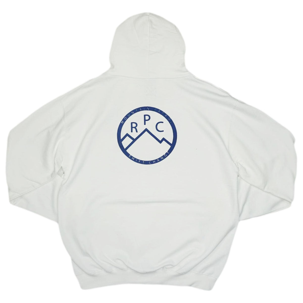 Rich Life Block Hoodie (White) /MD2