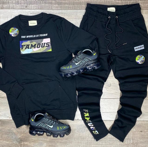 Famous RPC Crew Set (Black) /D13
