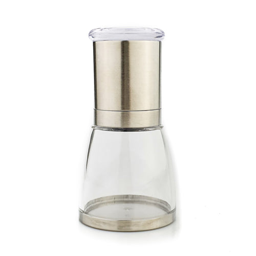 BRISSCOES - Pro Grind Stainless Steel Pepper Mill