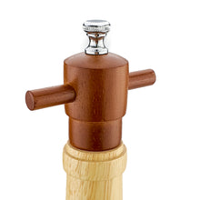 Load image into Gallery viewer, BRISSCOES - Wood Pepper Mill Wine Bottle Design 14""