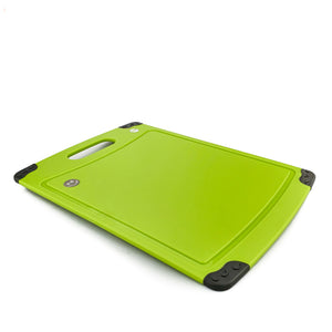 BRISSCOES - Anti Bacterial PP Cutting Board with Silicone Stopper (Large)