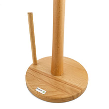 Load image into Gallery viewer, BRISSCOES - BEECH Wooden Paper Towel Stand