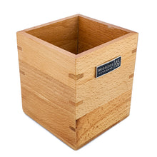Load image into Gallery viewer, BRISSCOES - Beech Wood Utensils Holder