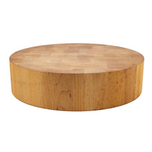 Load image into Gallery viewer, BRISSCOES - Round Beach Wood Butcher Block