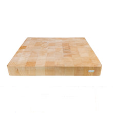 Load image into Gallery viewer, BRISSCOES - SQ Solid Beech Wood Chopping Board