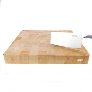 BRISSCOES - SQ Solid Beech Wood Chopping Board