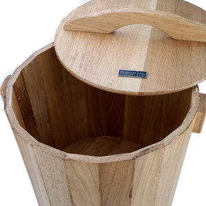 BRISSCOES - Wooden Rice Bucket 10kg