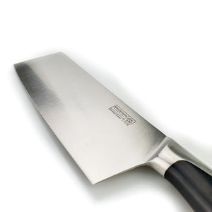 "BRISSCOES - Pro-Forged Narrow Blade Cleaver 6"" German Stainless Steel"